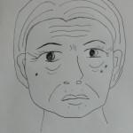 開発秘話:ある日突然のおばあさん顔